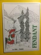 3664 - Suisse Valais Fendant  La Cible Société De Tir - Autres