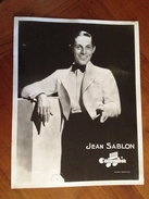 """Jean SABLON  """" Columbia"""" - Célébrités"""