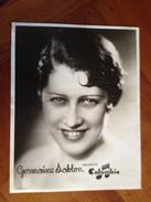 """Germaine  SABLON  """" Columbia"""" - Célébrités"""
