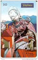 TARJETA DE BRASIL DE PINTURA DE EL PROFETA EZEQUIEL DE MARCIO SCHIAZ  (PAINTING) - Pintura