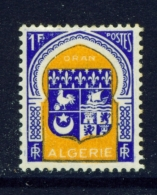 ALGERIA  -  1947  Coats Of Arms  F1  Mounted/Hinged Mint - Unused Stamps