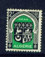ALGERIA  -  1947  Coats Of Arms  F2  Mounted/Hinged Mint - Unused Stamps