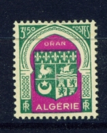 ALGERIA  -  1947  Coats Of Arms  F3.50  Mounted/Hinged Mint - Unused Stamps