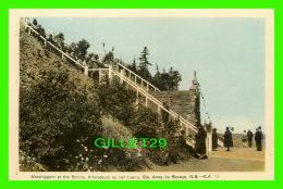 STE ANNE DU BOCAGE, NEW BRUNSWICK - LES ADORATEURS AU  SANCTUAIRE - PECO - ANIMÉE - - Nouveau-Brunswick