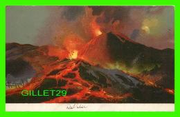 LOTS - 5 CARTES DE DELPHIS - MOUNT VESUVIUS IN ERUPTION - SÉRIES 60- 1-2-3-5-6- - UNDIVIDED BACK - - Cartes Postales