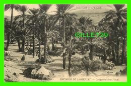 MISSIONS D'AFRIQUE LAGHOUAT - CAMPEMENT DANS L'OASIS - ANIMÉE -  SOEURS MISSIONNAIRES DE N.D. D'AFRIQUE - - Missions