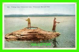 YELLOWSTONE, WY - FISHING CONE, YELLOWSTONE LAKE, NATIOANL PARK - ANIMATED - NORTHERN PACIFIC - - Yellowstone