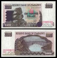 Zimbabwe 100 Dollars 1995 P 9 UNC  ( Zimbabue  ) - Zimbabwe