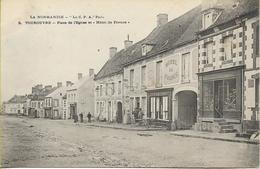 TOUROUVRE Place De L'église Et Hôtel  De Francel - Other Municipalities