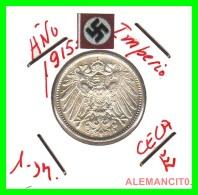 GERMANY -  IMPERIO - DEUTSCHES REICH - 1 Mark. AÑO 1915-E - 1 Mark