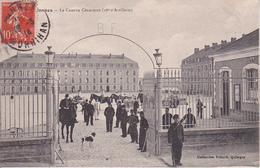 CPA La Caserne Cénarmon - 28e D'Artillerie  - WW1 (27796) - Vannes