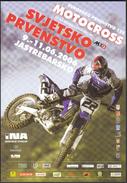 Croatia Jastrebarsko 2006 / TIMETABLE / Motocross Grand Prix Croatia / MX3 World Championship / 125 European Champ. - Europa