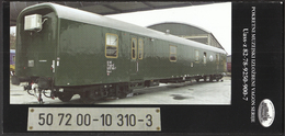 Croatia Zagreb 2015 / RAILWAY / Trains / Prospect Of Mobile Museum Exhibition Wagon Serial Uass-z 82-78-9250-900-7 - Unclassified