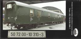 Croatia Zagreb 2015 / RAILWAY / Trains / Prospect Of Mobile Museum Exhibition Wagon Serial Uass-z 82-78-9250-900-7 - Documentos Antiguos