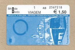 SMTUC- Coimbra - Portugal - A Bus Ticket - Bus