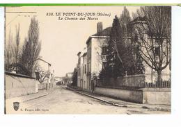 CPA-69-LYON-LE POINT-du-JOUR-LE CHEMIN DES MURES- - Lyon