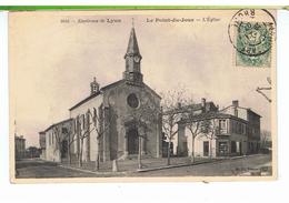 CPA-69-1907-LYON-LE POINT-du-JOUR-L'EGLISE-MAGASIN P.MOUNIER- - Lyon