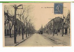 CPA-69-VERS 1930-LYON-LE POINT-du-JOUR-LE CHEMIN DE L'ETOILE D'ALAÏ-ANIMEE-GENS QUI MONTENT DANS 1 TRAMWAY-BOULANGERIE- - Lyon