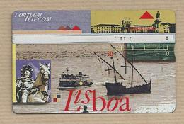 Telephone Card - Portugal Telecom. Lisbon, European Capital Of Culture, 1994 Telecarte Phonecard Tarjeta Credifone - Cultura