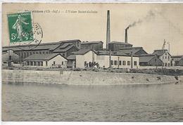 MARENNES - L'usine Saint Gobain - Marennes