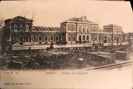 PORTUGAL. PORTO.  ESTACAO DE CAMPANHA. J.N.B 163. EDICAO DE ARNALDO SOARES - Porto