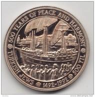 @Y@  Turkije   5000 Lira 1992   Prooflike   PEACE AND HARMONY   SAILING SHIP - Turkey