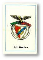 S. L. Benfica - 1985 Pocket Calendar - Futebol - Soccer - Football - Lisboa Portugal - Calendriers