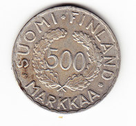FINLANDE KM 35 500 M 1952 H SILVER . (SP38) - Finlande