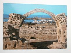 Postcard Saranta Colones Castle Paphos Cyprus My Ref B2578 - Cyprus