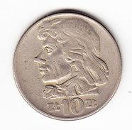 COINS POLOGNE Y 50a 1960 10Z. (M20) - Pologne