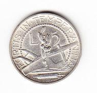COINS   SAINT-MARIN       KM  9  ( SAN  MARINO)  L.5  UNC  1938 SILVER.  (SM 1501A) - Saint-Marin