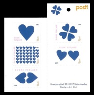 Finland 2017 Mih. 2485/89 St. Valentine Day. Blue Hearts MNH ** - Finland