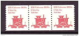 U.S. 1905 X 3   **  VARIETY, TAGGING TRAIN - Coils & Coil Singles
