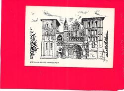 ILLUSTRATEUR  J T 65 - BORDEAUX - Eglise Sainte Croix - ENCH - - Illustrateurs & Photographes