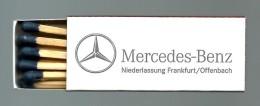 Mercedes-Benz - Matchbox Boite D' Allumettes Caixa De Fósforos Caja De Cerillas- 4 Scans - Zündholzschachteln