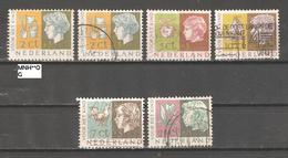 Netherlands 1953,Semi Postal,Child Welfare,Sc B259-263,VF USED / 1 MNH** - Period 1949-1980 (Juliana)