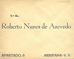 ARRIFANA - ENVELOPE COMERCIAL ( 155 X 124 ) - ADVERTISING - PORTUGAL - Portugal