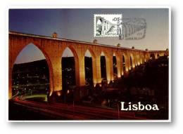 LISBOA - Aqueduto Das Aguas Livres - 28.06.1978 - PORTUGAL - CARTE MAXIMUM - MAXICARD - Maximum Cards & Covers