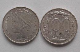 VARIANTE !!! 100 LIRE 1993 TESTA PICCOLA !!! RARA B - 1946-… : République