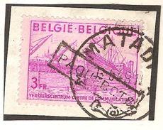 Industrie Nr. 770 Op Fragment En Met ZELDZAME Stempel PAQUEBOTS + Stempel MATADI ! Inzet Aan 5 € ! - Congo Belge