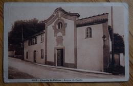 06 : Nice - Chapelle St-Philippe - Avenue De Candia - Petits Plis D'angles - (n°7648) - Bauwerke, Gebäude