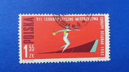 POLAND 1962 EUROPEAN CHAMPIONSHIP LIGHT ATHLETICS IN BELGRADE FISCHER 1195B - 1944-.... Republic