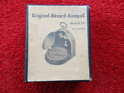 """Ancienne Boite Pour Boussole """"Original-Bézard-Kompass"""" Model IS - Autres Collections"""