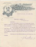Lettre Illustrée 16/8/1918 The Continental BODEGA Company AMSTERDAM Pays Bas - Vin Espagnol Et Portugais - Netherlands