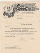 Lettre Illustrée 7/1/1938 The Continental BODEGA Company AMSTERDAM Pays Bas - Vin Espagnol Et Portugais - Netherlands