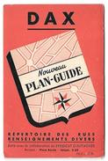 Plan Guide Blay De La Ville De Dax - Carte Geographique