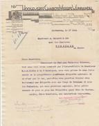 Lettre Illustrée 17/6/1932 HOOGEWEFF CHABOT & VISSER'S VIJNHANDEL ROTTERDAM Pays Bas Champagne Roederer Whisky Get Revel - Pays-Bas
