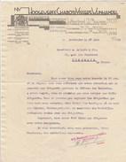 Lettre Illustrée 27/6/1932 HOOGEWEFF CHABOT & VISSER'S VIJNHANDEL ROTTERDAM Pays Bas Champagne Roederer Whisky Get Revel - Netherlands