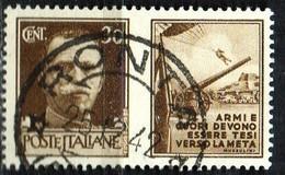PIA - REG - 1942 - Propaganda Di Guerra - (SAS 6) - 1900-44 Victor Emmanuel III