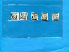-colonies Françaises-timbre TAXE N° 1-3 -4-6-10-***neuf Sans Gomme Trés  Belles Marges -cote 43 Eu - Postage Due
